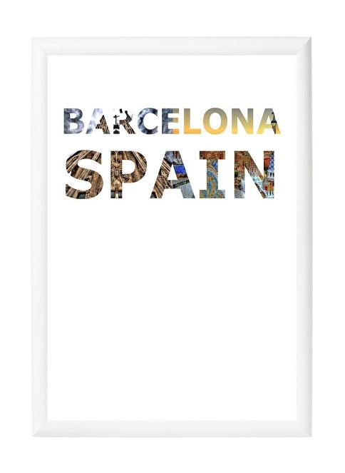 Decarthome Barselona Anı Çerçevesi 21x30 cm Beyaz